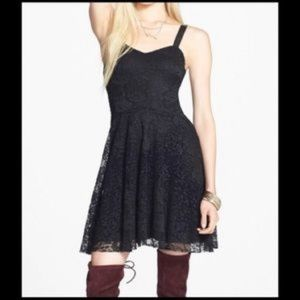 Free People Fit & Flare Lacey Dress